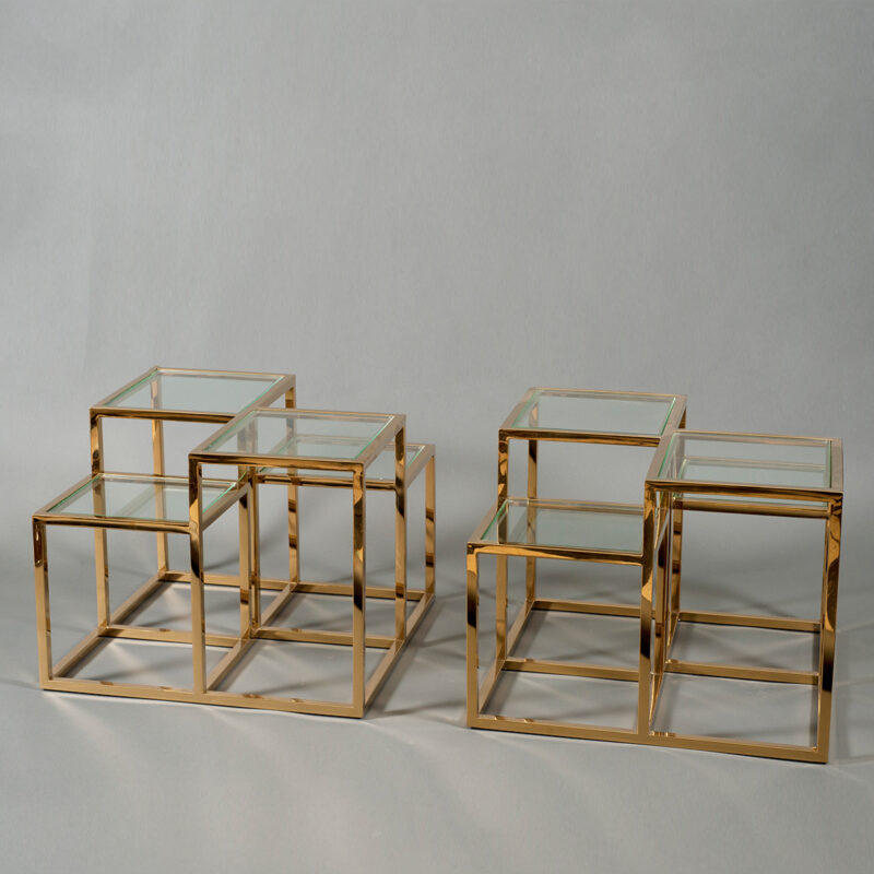 Pair Of Tiered Tables